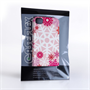 Caseflex iPhone 4 / 4S Winter Christmas Snowflake Cover – Red