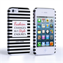 Caseflex iPhone 4/4s Chanel 'Fashion Changes' Quote Case – Black and White