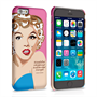 Caseflex iPhone 6 and 6s Marilyn Monroe 'Fear is Stupid' Quote Case