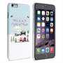 Caseflex iPhone 6 Plus and 6s Plus  Merry Christmas Pattern Hard Case