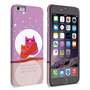 Caseflex iPhone 6 and 6s Plus Mummy Owl Hard Case – Purple and Pink