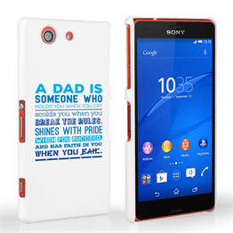 Caseflex Definition of a Dad Quote Sony Xperia Z3 Compact Case